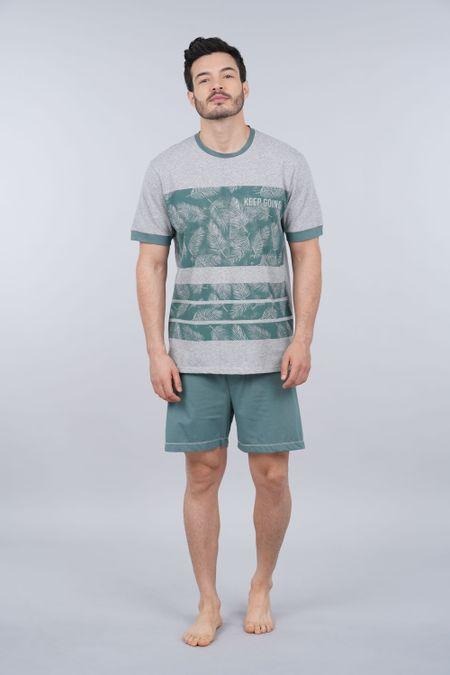 Pijama para Hombre Color Gris Ref: 003325 - CCU - Talla: S
