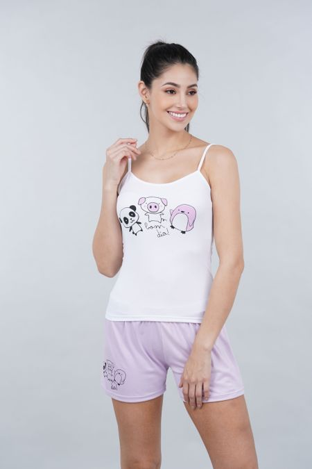 Pijama para Mujer Color Morado Ref: P40023 - Espectra - Talla: M