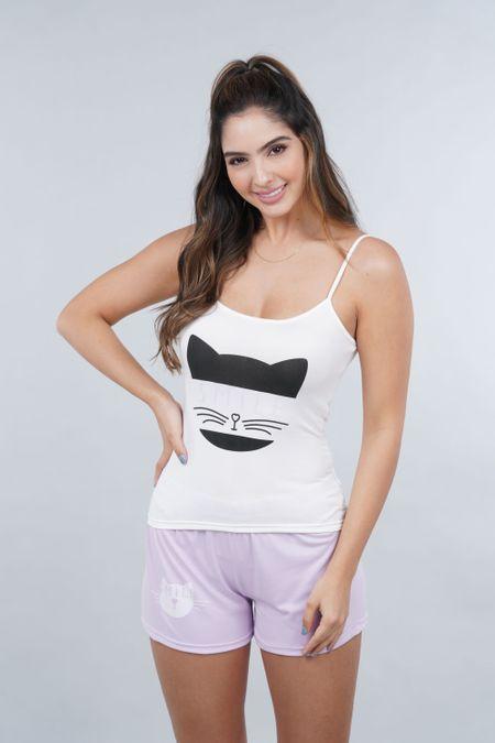 Pijama para Mujer Color Morado Ref: P40013 - Espectra - Talla: S