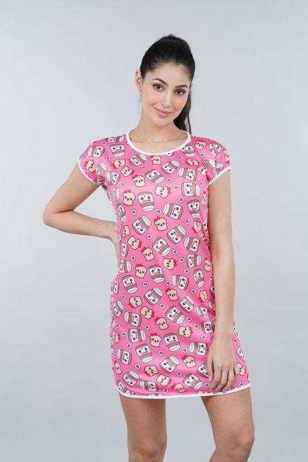Pijama para Mujer Color Rosado Ref: 002457 - Ambil - Talla: S