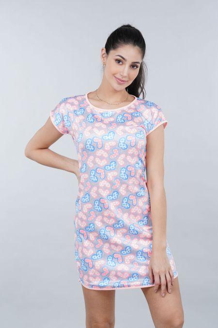 Pijama para Mujer Color Naranja Ref: 002461 - Ambil - Talla: S