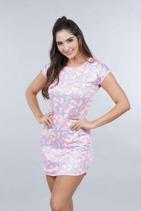 Pijama para Mujer Color Rosado Ref: 002461 - Ambil - Talla: S