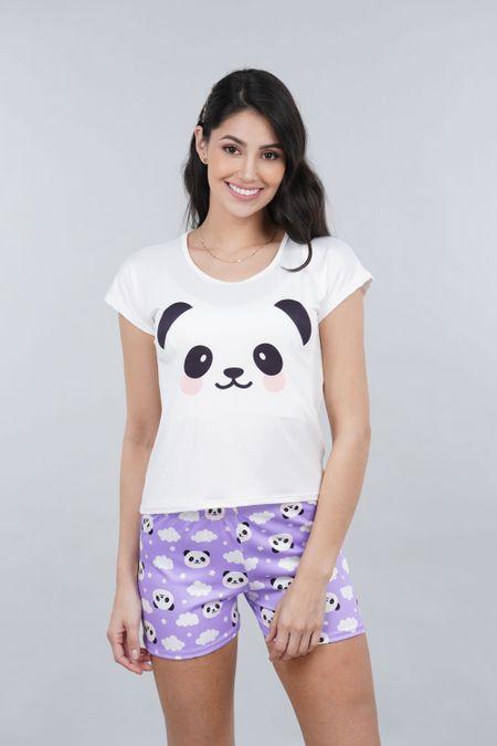 Pijama para Mujer Color Morado Ref: 002455 - Ambil - Talla: S