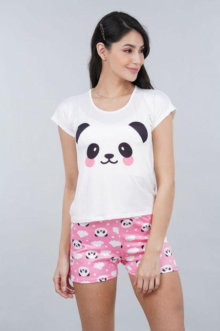 Pijama para Mujer Color Rosado Ref: 002455 - Ambil - Talla: S