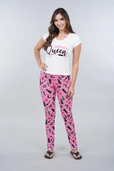 Pijama para Mujer Color Blanco Ref: 002258 - Ambil - Talla: S