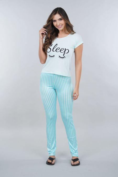 Pijama para Mujer Color Verde Ref: 002274 - Ambil - Talla: S