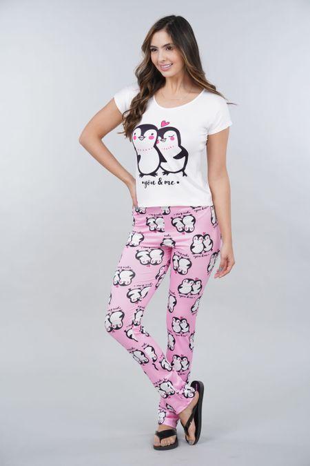 Pijama para Mujer Color Rosado Ref: 002316 - Ambil - Talla: S