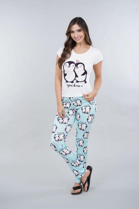 Pijama para Mujer Color Verde Ref: 002316 - Ambil - Talla: S