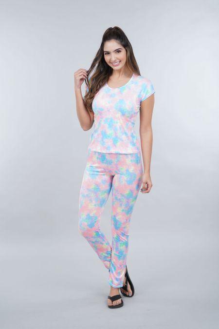 Pijama para Mujer Color Naranja Ref: 002459 - Ambil - Talla: S