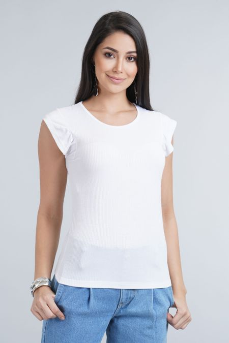 Blusa para Mujer Color Blanco Ref: 023400 - CCU - Talla: XL