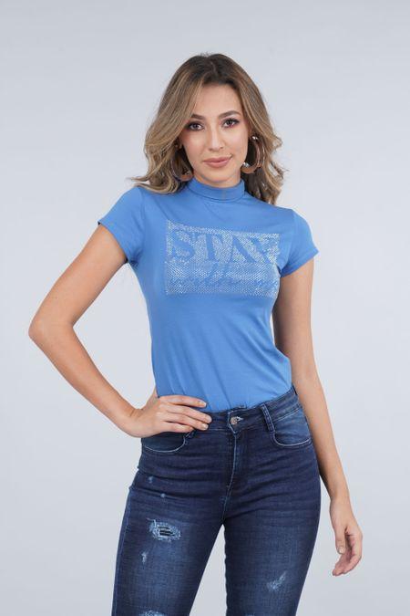 Blusa para Mujer Color Azul Ref: 030048 - CCU - Talla: S