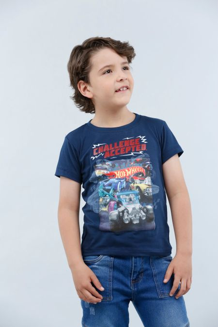Camiseta para Niño Color Azul Ref: 033503 - Confetex - Talla: 4