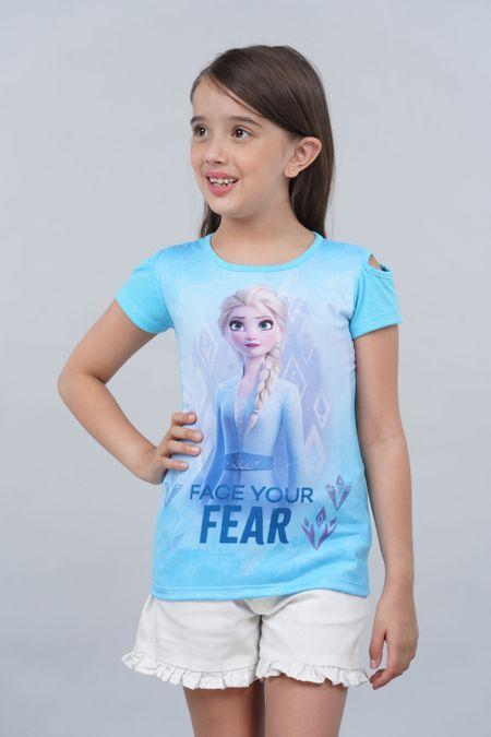 Blusa para Niña Color Azul Ref: 101983 - Confetex - Talla: 6