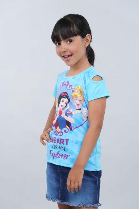 Blusa para Niña Color Azul Ref: 101987 - Confetex - Talla: 6