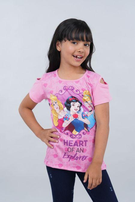 Blusa para Niña Color Rosado Ref: 101987 - Confetex - Talla: 6