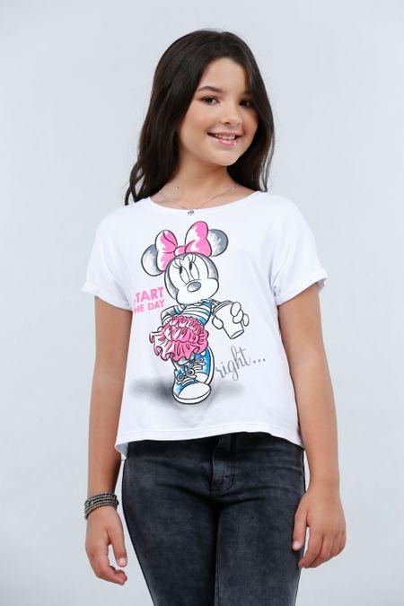 Blusa para Teen Color Blanco Ref: 103661 - CCU - Talla: 12