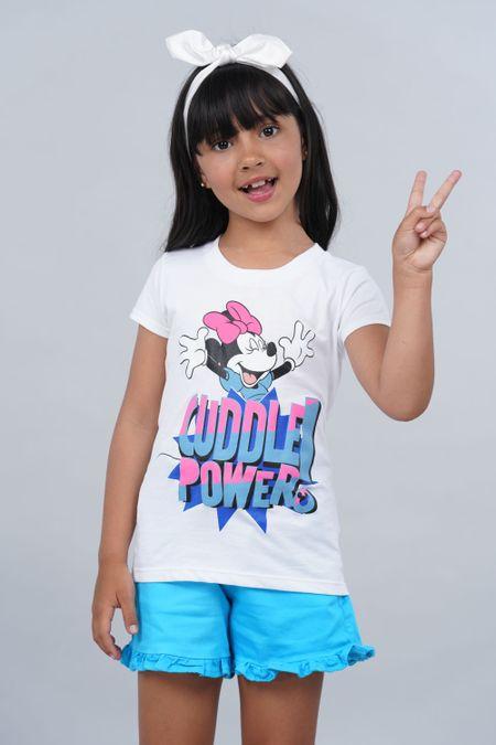 Camiseta para Niña Color Blanco Ref: 103996 - CCU - Talla: 6