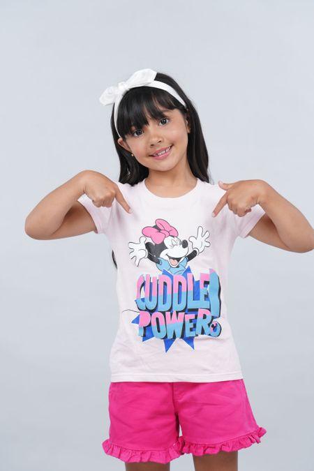 Camiseta para Niña Color Rosado Ref: 103996 - CCU - Talla: 6