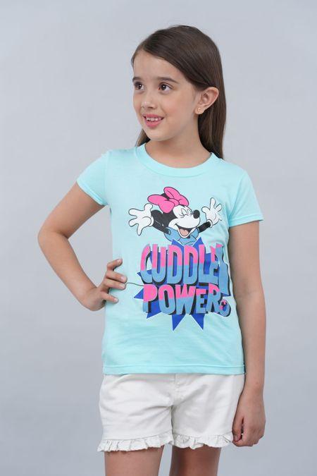 Camiseta para Niña Color Azul Ref: 103996 - CCU - Talla: 6
