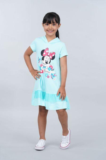Vestido para Niña Color Azul Ref: 120090 - CCU - Talla: 8