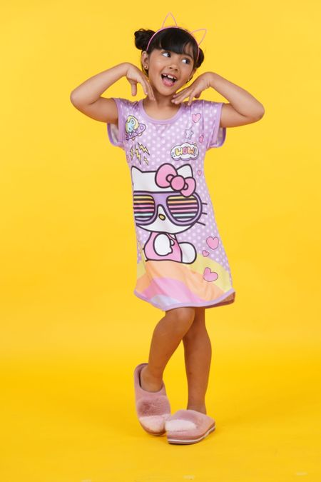 Pijama para Niña Color Morado Ref: 905002 - Confetex - Talla: 6