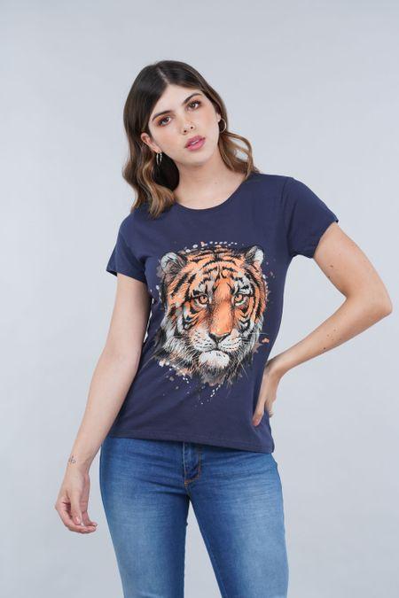 Camiseta para Mujer Color Azul Ref: 001025 - CCU - Talla: S