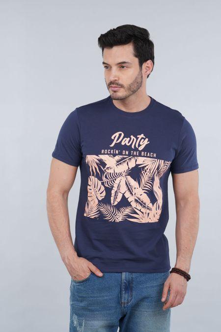 Camiseta para Hombre Color Azul Ref: 010040 - CCU - Talla: S