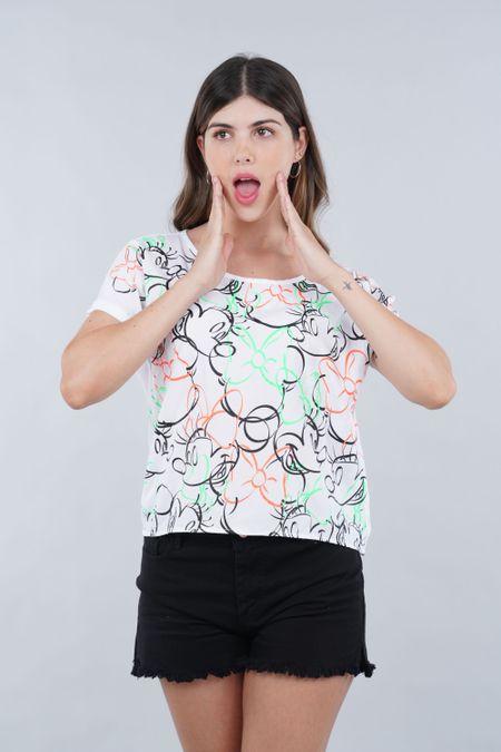 Blusa para Rebel Color Blanco Ref: 101792 - CCU - Talla: XS