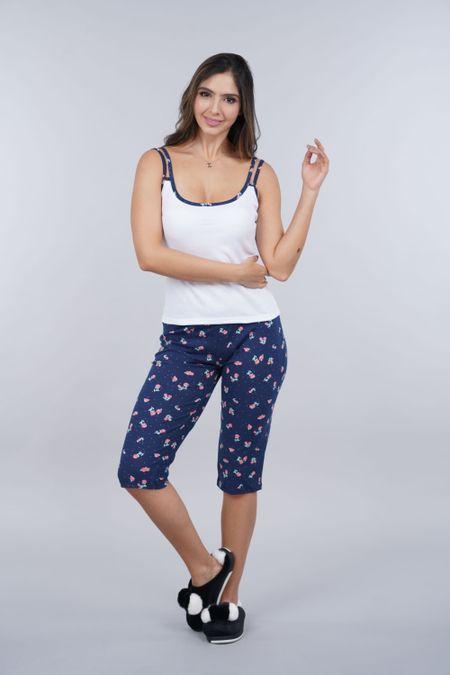 Pijama para Mujer Color Blanco Ref: 000991 - CCU - Talla: S