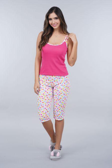 Pijama para Mujer Color Fucsia Ref: 000992 - CCU - Talla: S
