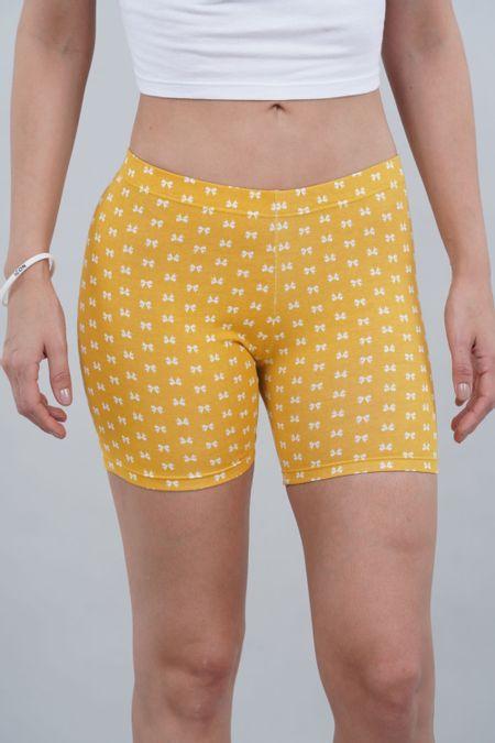 Ciclista para Mujer Color Amarillo Ref: 002110 - CCU - Talla: S