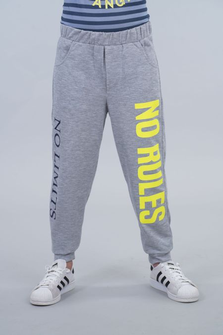 Jogger para Junior Color Gris Ref: 030247 - CCU - Talla: 10