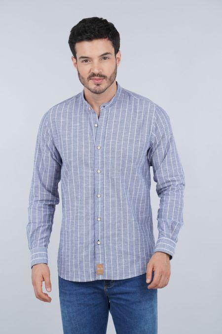 Camisa para Hombre Color Azul Ref: 103478 - E.U - Talla: S