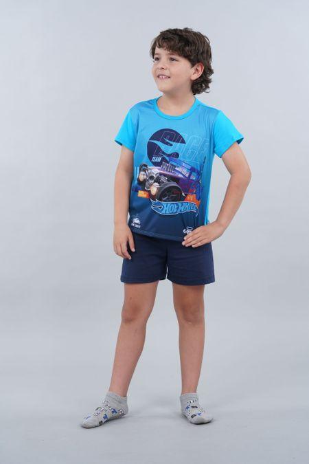 Pijama para Niño Color Azul Ref: 034501 - Confetex - Talla: 4