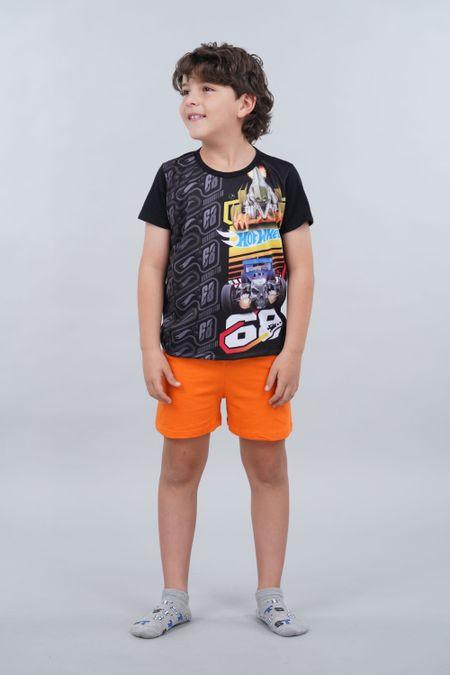 Pijama para Niño Color Negro Ref: 034504 - Confetex - Talla: 4
