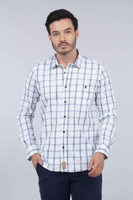 Camisa para Hombre Color Blanco Ref: 103479 - E.U - Talla: S