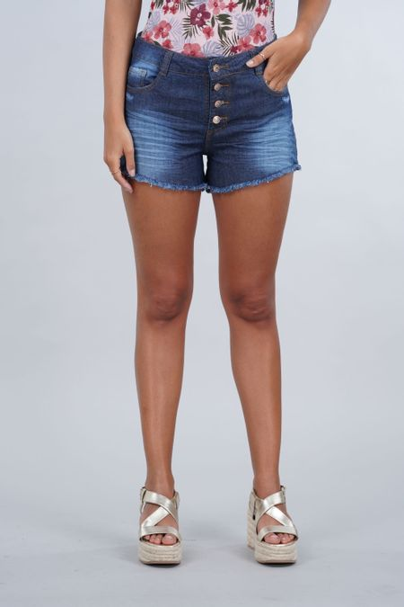 Short para Mujer Color Azul Ref: 102278 - E.U - Talla: 6