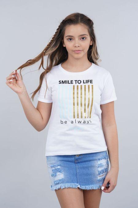 Blusa para Teen Color Blanco Ref: 030758 - Lazus - Talla: 14