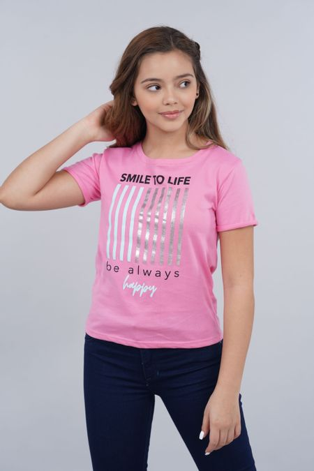 Blusa para Teen Color Rosado Ref: 030758 - Lazus - Talla: 14