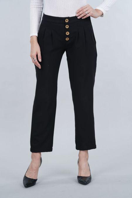 Pantalon para Mujer Color Negro Ref: 10337-1 - E.U - Talla: 6