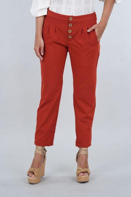 Pantalon para Mujer Color Terracota Ref: 10337-1 - E.U - Talla: 6