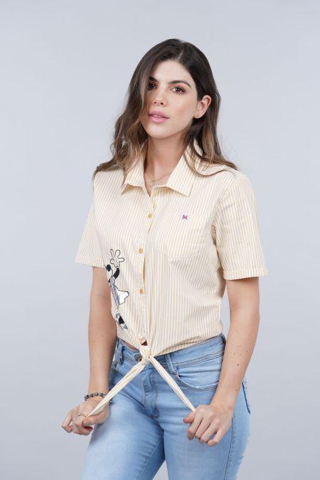 Camisa para Rebel Color Amarillo Ref: 116034 - Tex Sion - Talla: XS