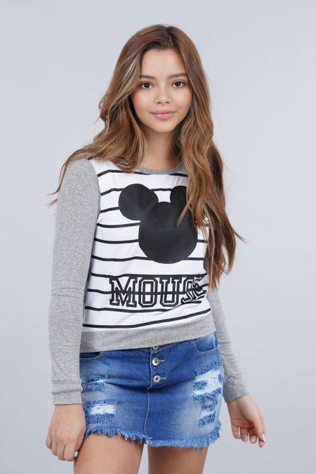 Blusa para Teen Color Gris Ref: 122081 - Colditex - Talla: 12