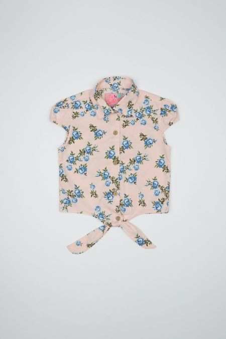 Camisa para Niña Color Rosado Ref: 201102 - Tex Sion - Talla: 2