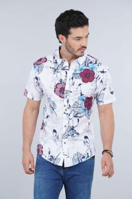 Camisa para Hombre Color Blanco Ref: 008002 - Celestial - Talla: S