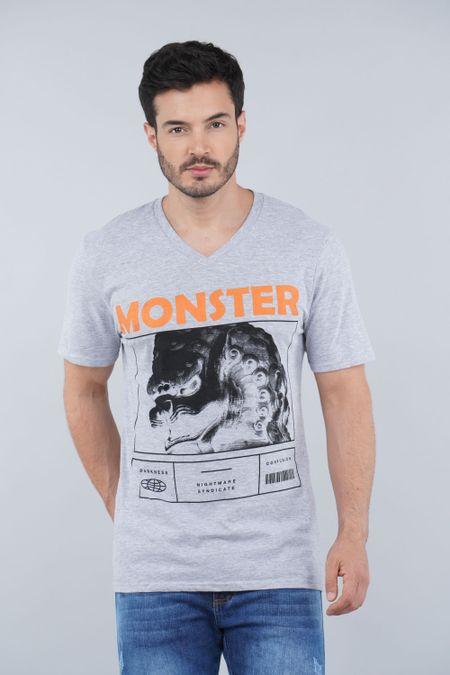 Camiseta para Hombre Color Gris Ref: 01040-10 - CCU - Talla: S