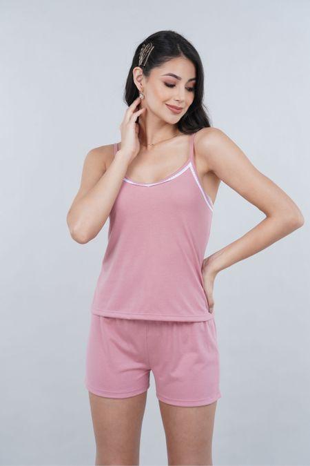 Pijama para Mujer Color Rosado Ref: 000905 - SieteSiete - Talla: S