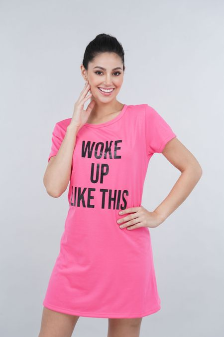 Pijama para Mujer Color Rosado Ref: 00C903 - SieteSiete - Talla: S