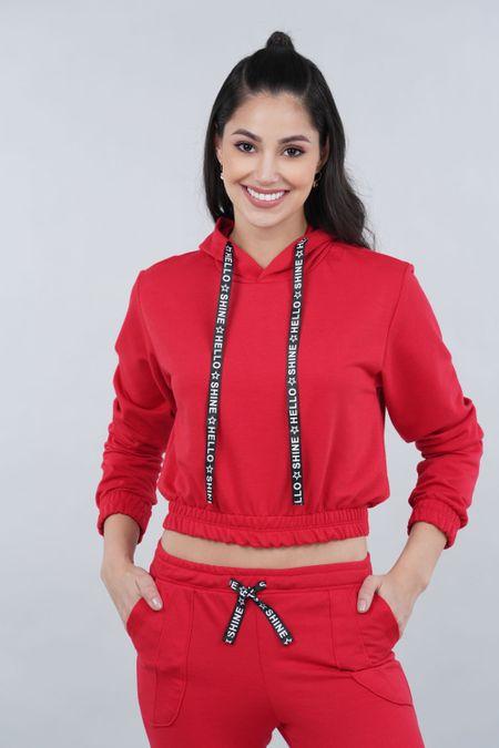 Buzo para Mujer Color Rojo Ref: 301120 - Olamtex - Talla: S