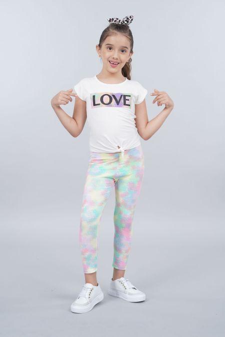 Conjunto para Niña Color Marfil Ref: 008121 - Lazus - Talla: 4